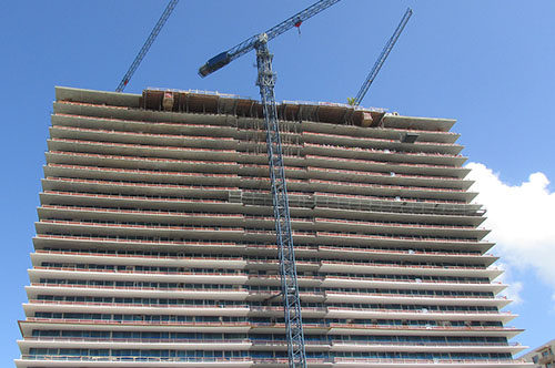 high rise building under construction 3