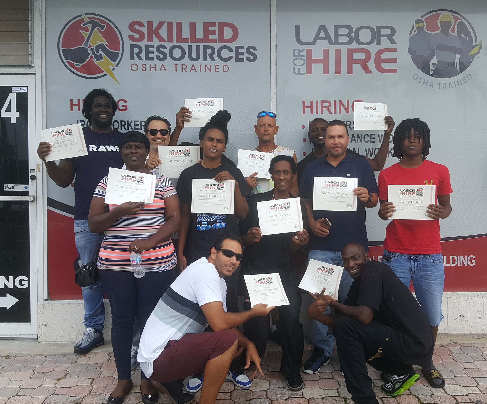 OSHA training class July 2018