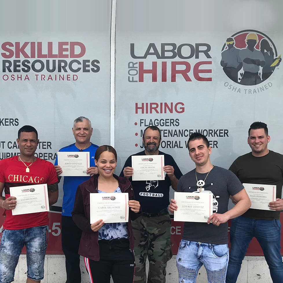 Labor For Hire Training Success