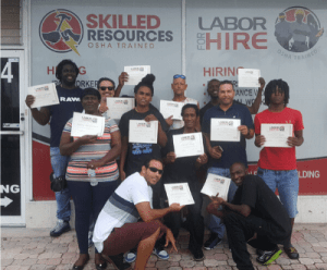 OSHA training class July 2018